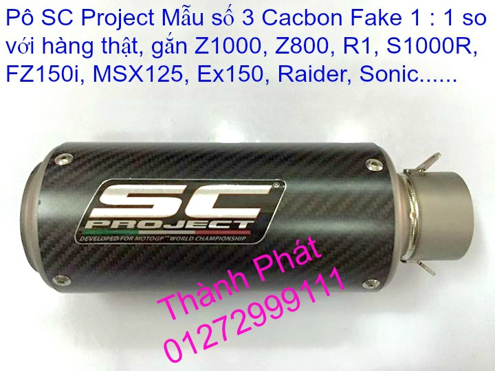 Po do Po kieu Co po 7 khuc AHM Akrapovic Yoshimura SC Project 2 Brother MIVV YYPANG Leov - 9