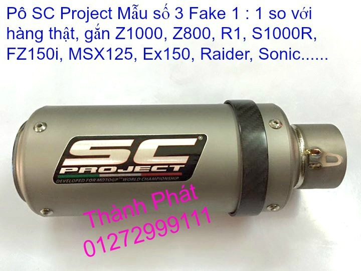 Po do Po kieu Co po 7 khuc AHM Akrapovic Yoshimura SC Project 2 Brother MIVV YYPANG Leov - 6