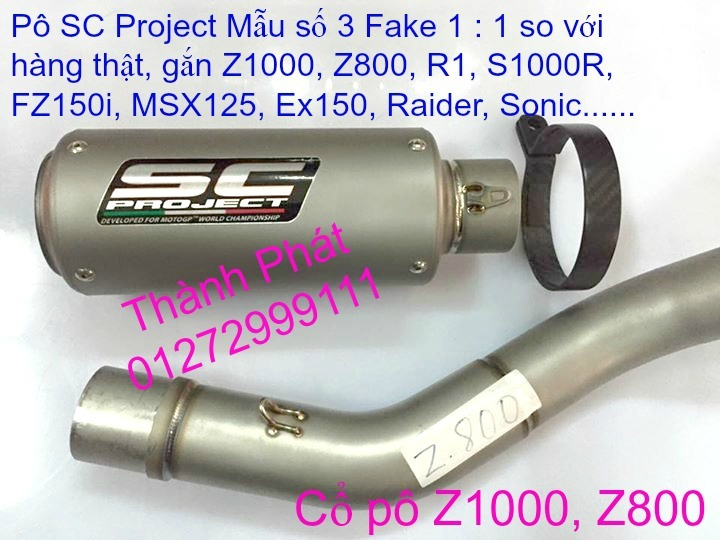 Po do Po kieu Co po 7 khuc AHM Akrapovic Yoshimura SC Project 2 Brother MIVV YYPANG Leov - 2