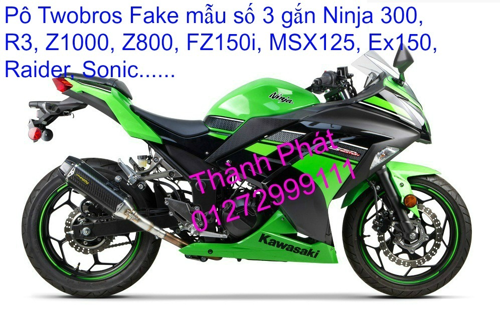 Po do Po kieu Co po 7 khuc AHM Akrapovic Yoshimura SC Project 2 Brother MIVV YYPANG Leov - 37
