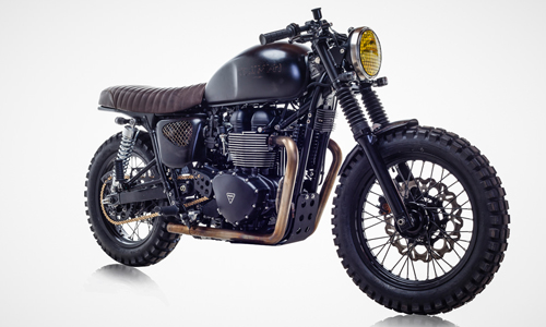 Triumph Bonneville T100 ban do David Beckham