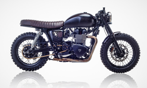 Triumph Bonneville T100 ban do David Beckham - 2