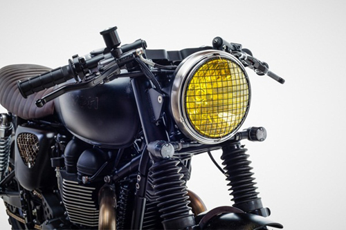 Triumph Bonneville T100 ban do David Beckham - 5
