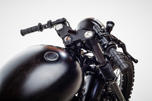 Triumph Bonneville T100 ban do David Beckham - 6