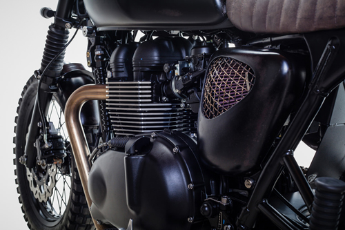 Triumph Bonneville T100 ban do David Beckham - 11