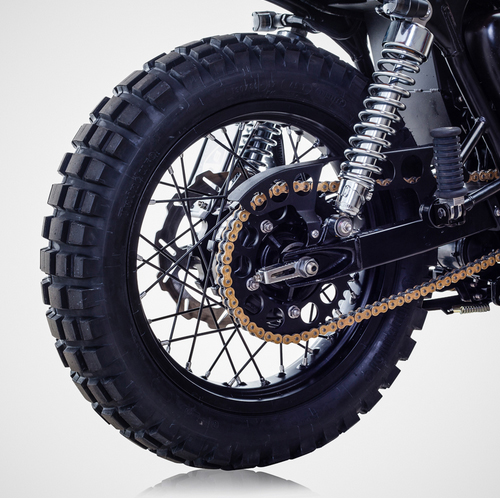 Triumph Bonneville T100 ban do David Beckham - 13