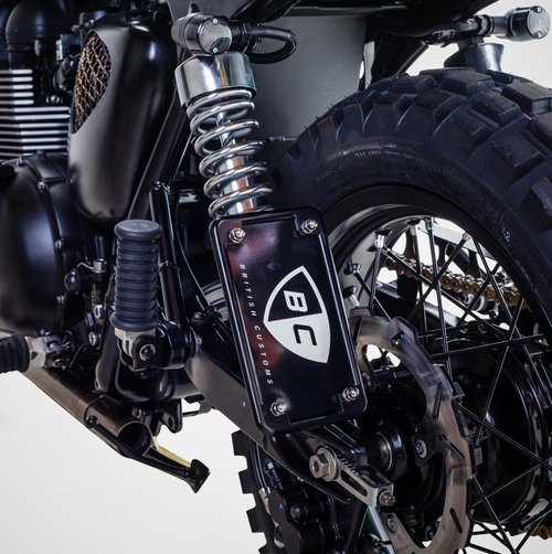 Triumph Bonneville T100 ban do David Beckham - 14
