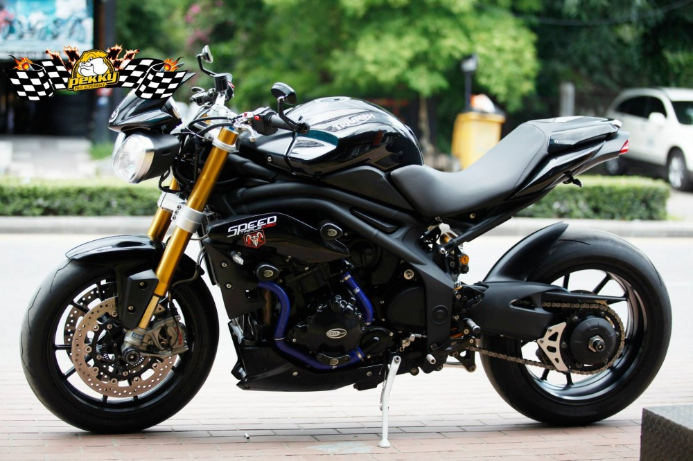 Triumph Speed Triple do phien ban sang chanh