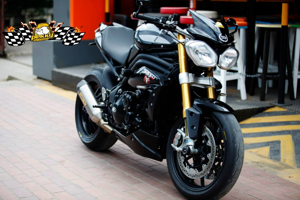 Triumph Speed Triple do phien ban sang chanh - 11