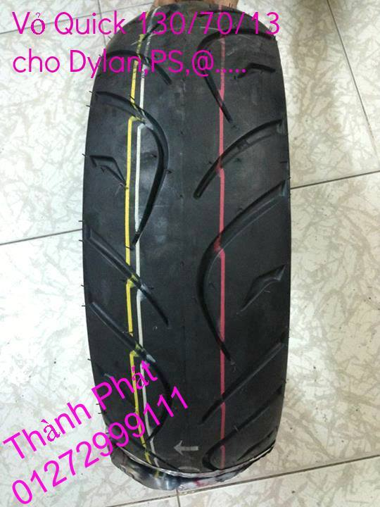 Vo lop xe may PKL va xe nho DunLop Michelin Briedgestone Continental IRC VeeRuber Swallow - 43