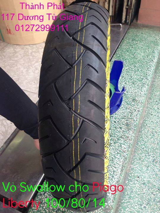 Vo lop xe may PKL va xe nho DunLop Michelin Briedgestone Continental IRC VeeRuber Swallow - 40