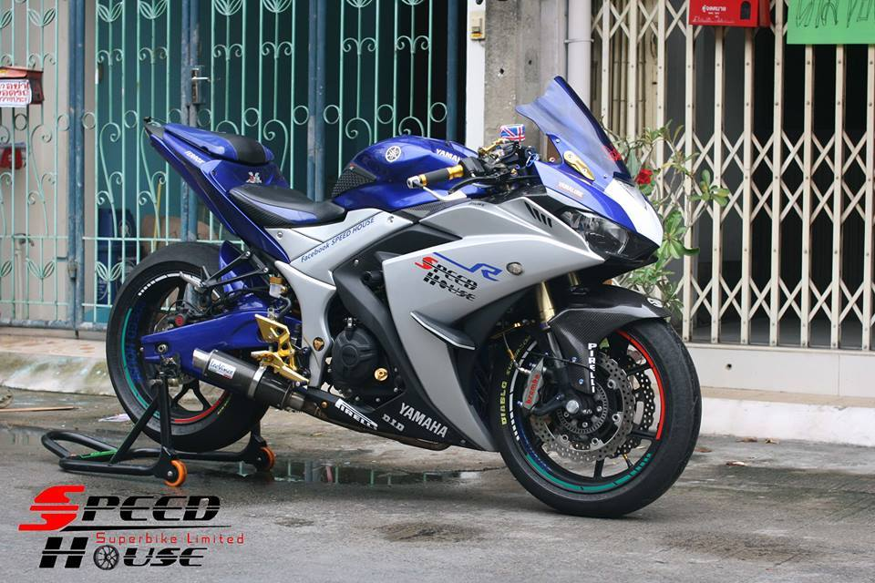 Yamaha R3 do pha cach day tinh te tai Speed House