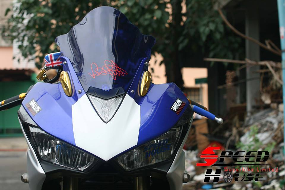 Yamaha R3 do pha cach day tinh te tai Speed House - 3