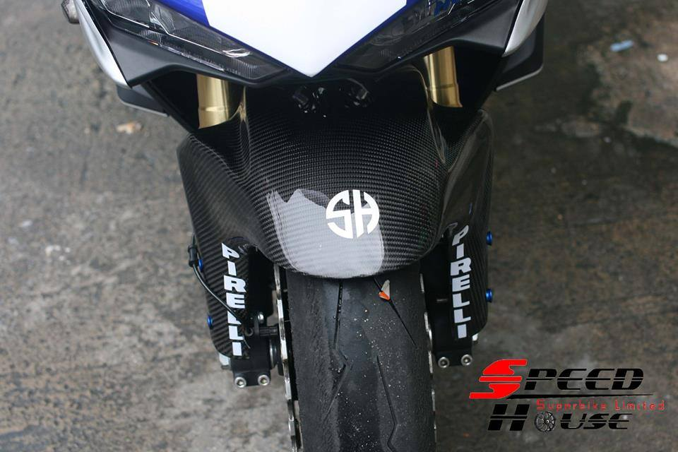 Yamaha R3 do pha cach day tinh te tai Speed House - 11