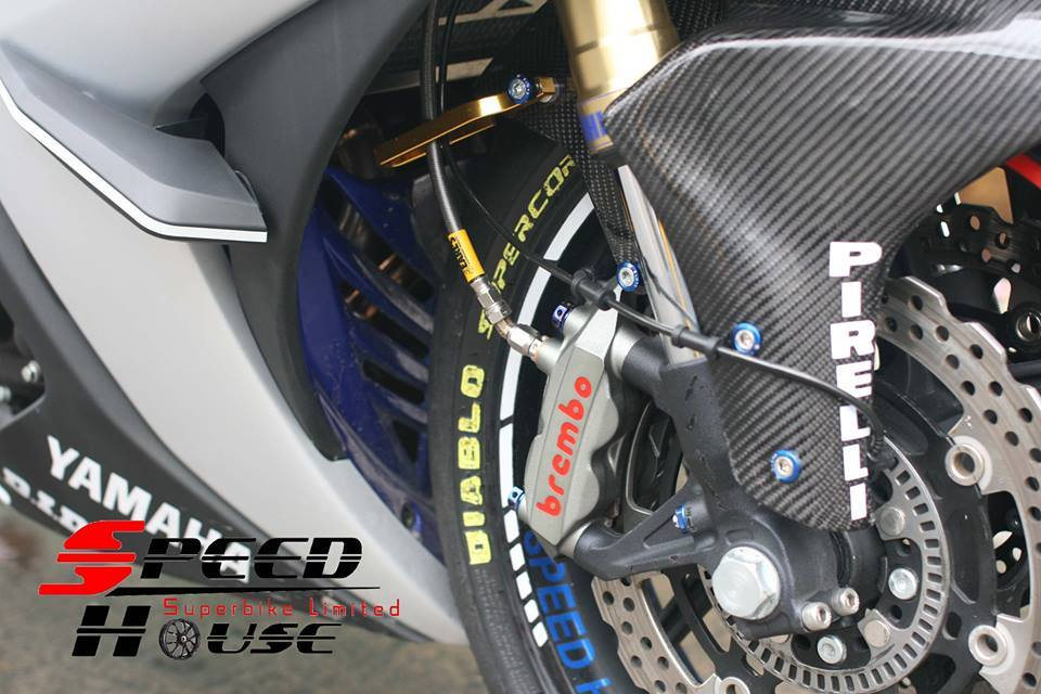 Yamaha R3 do pha cach day tinh te tai Speed House - 10