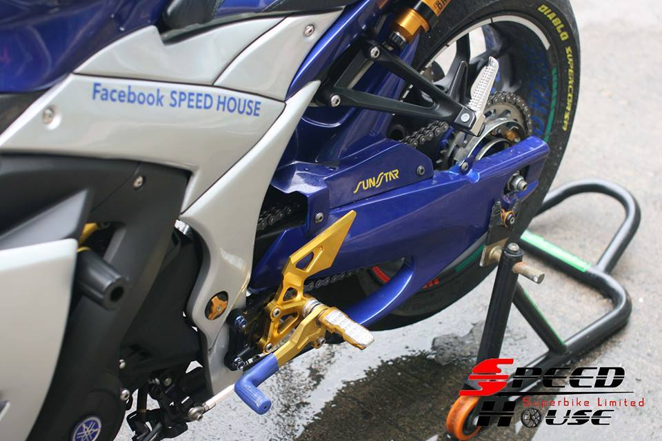Yamaha R3 do pha cach day tinh te tai Speed House - 13