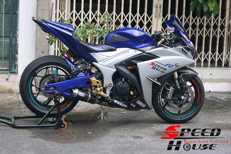 Yamaha R3 do pha cach day tinh te tai Speed House - 15