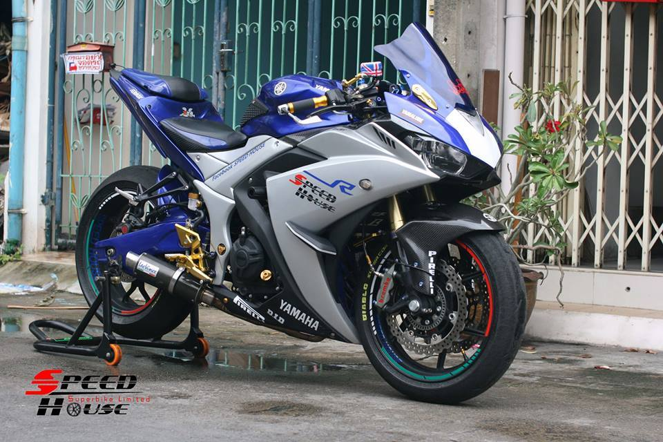 Yamaha R3 do pha cach day tinh te tai Speed House - 16