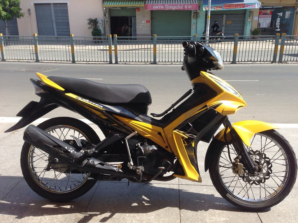 Ban Exciter 2009 Con Tay Xe 9 chu bs SG Full 135cc
