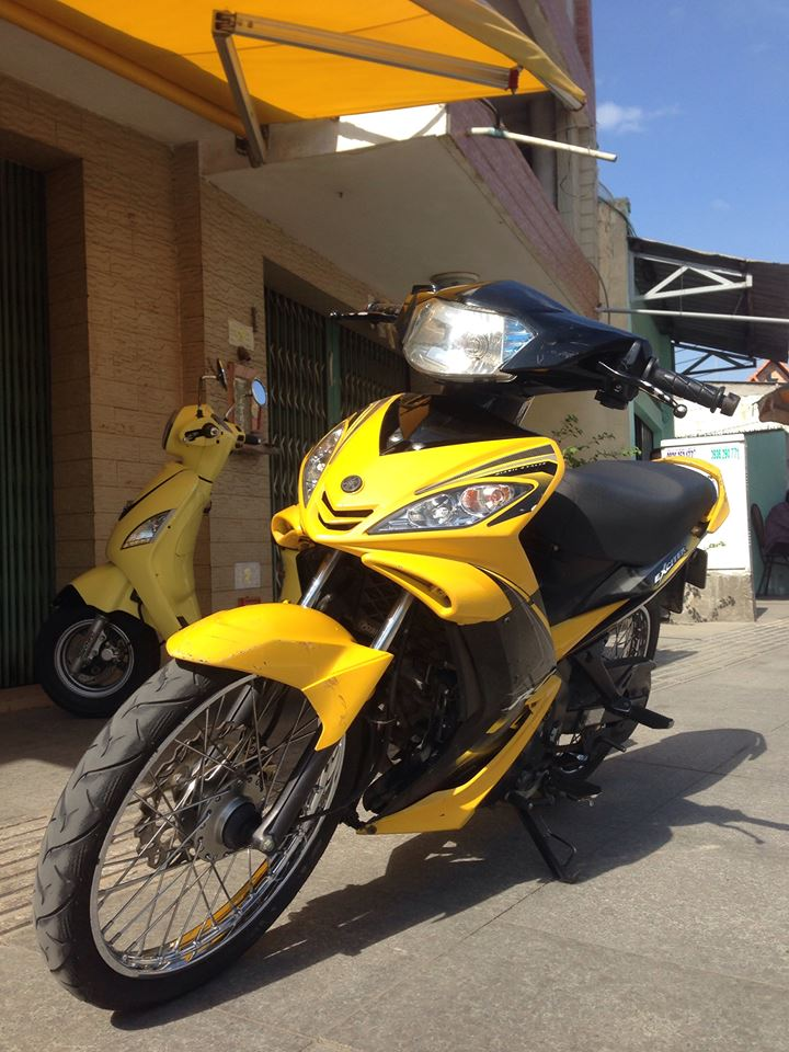 Ban Exciter 2009 Con Tay Xe 9 chu bs SG Full 135cc - 2