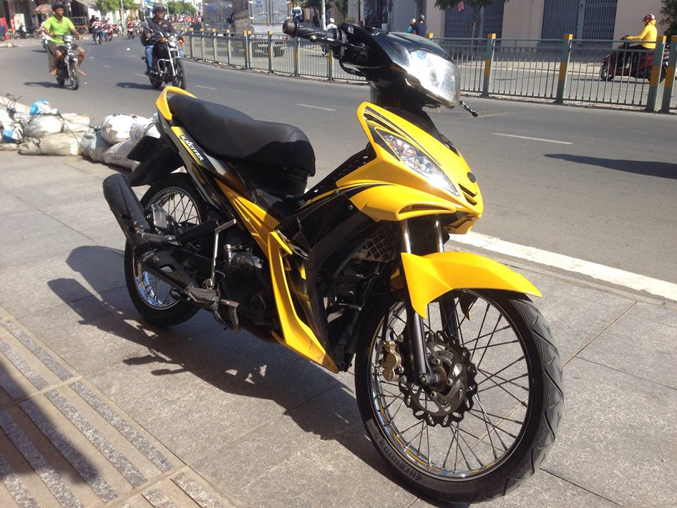 Ban Exciter 2009 Con Tay Xe 9 chu bs SG Full 135cc - 3