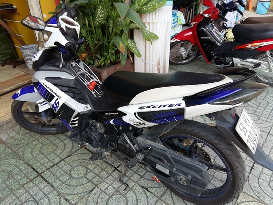 Ban xe Yamaha Exciter 135 GP doi 2011 bien so