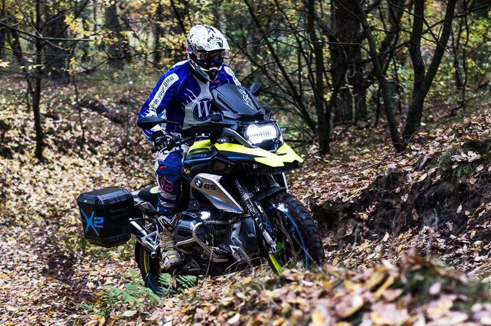 BMW R1200GS LC do dan dong 2 banh tai Wunderlich - 10