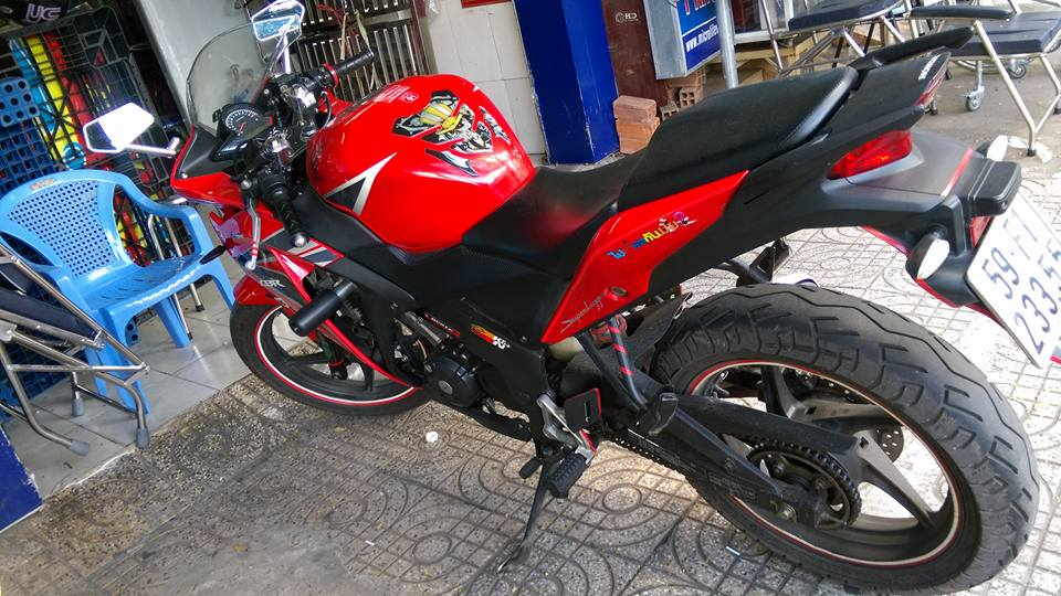 Can ban moto CBR 150i Thai Lan mau do - 5