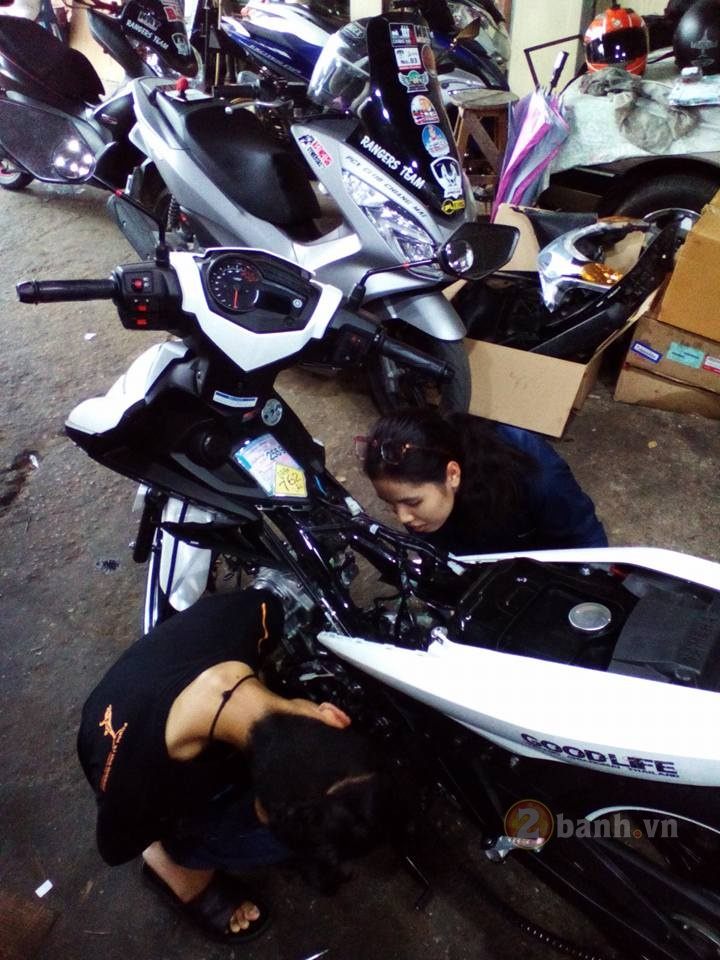 Can canh Exciter 150 len 6 so dat 158kmh - 4
