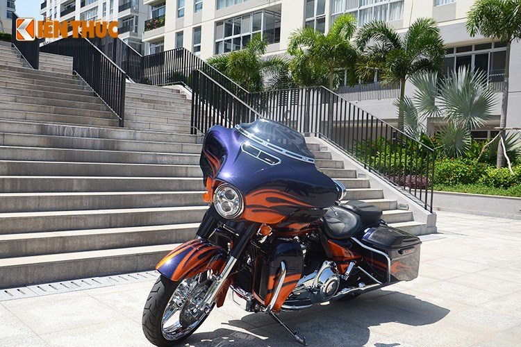 Can canh HarleyDavidson CVO Street Glide 2015 gia 16 ty dong tai Viet Nam - 2