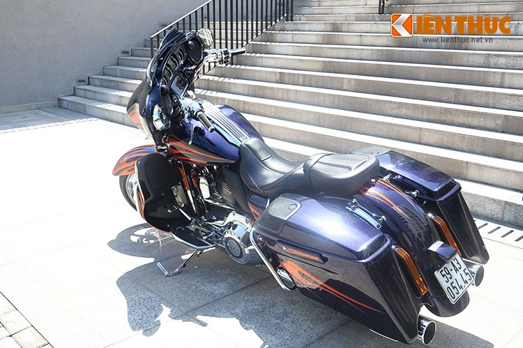 Can canh HarleyDavidson CVO Street Glide 2015 gia 16 ty dong tai Viet Nam - 3