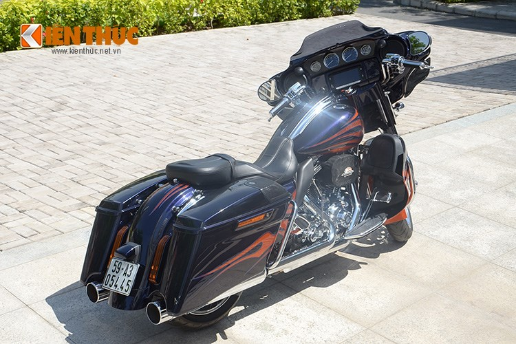 Can canh HarleyDavidson CVO Street Glide 2015 gia 16 ty dong tai Viet Nam - 4