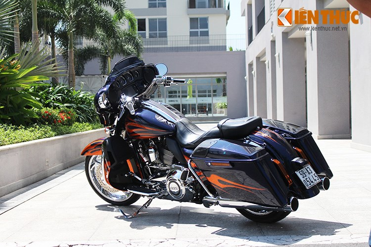 Can canh HarleyDavidson CVO Street Glide 2015 gia 16 ty dong tai Viet Nam - 21