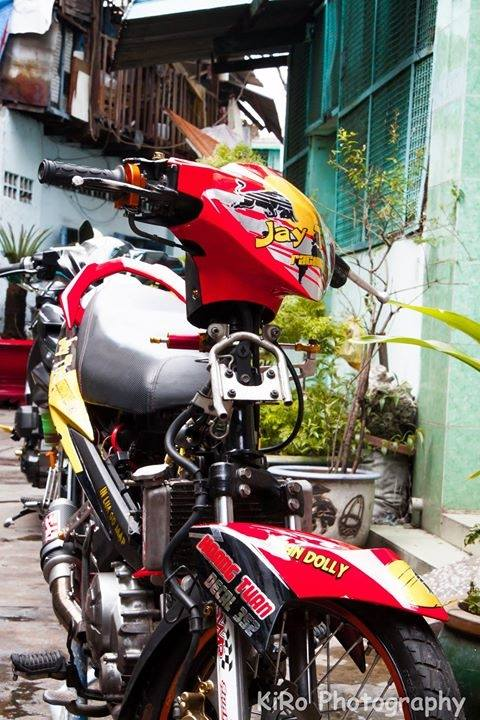 CAP DOI YAMAHA EXCITER 135 DO DANG