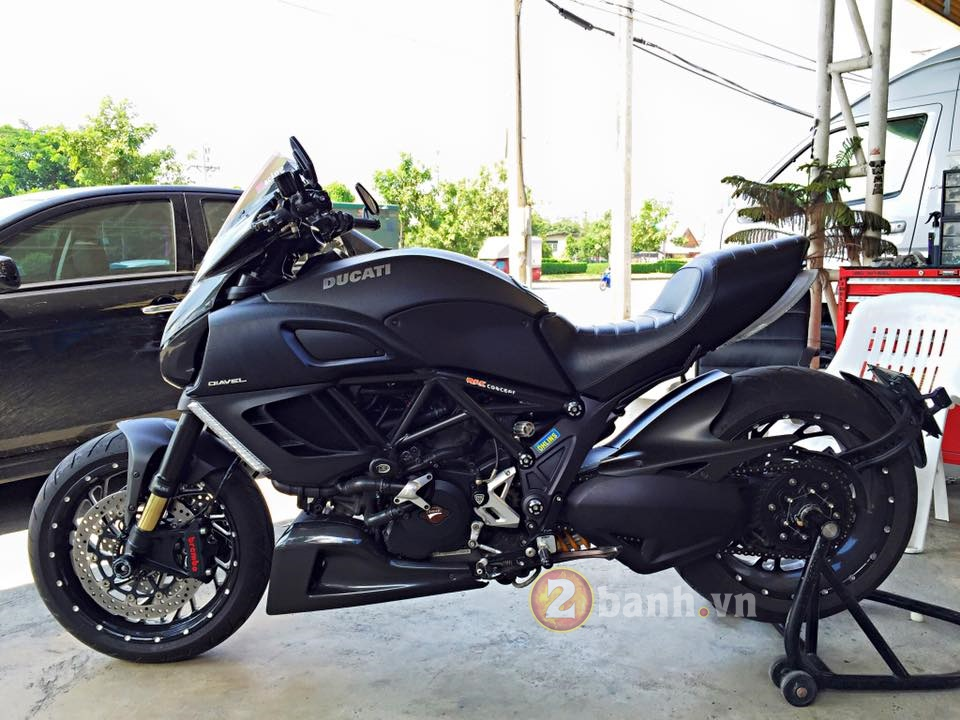 Ducati Diavel do hang hieu tai Thai Lan