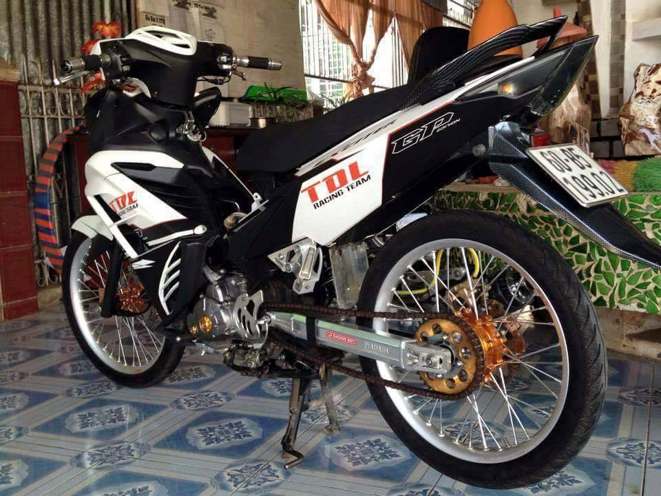 Exciter 135 do phong cach Drag don gian - 2