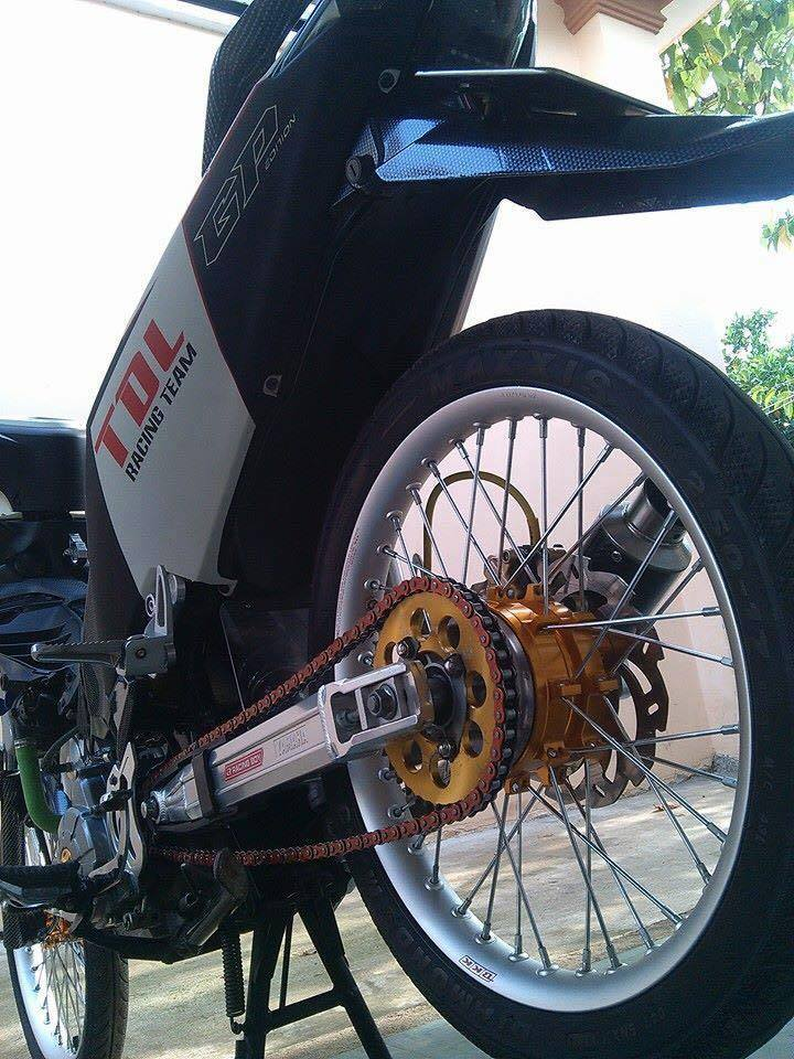 Exciter 135 do phong cach Drag don gian - 3