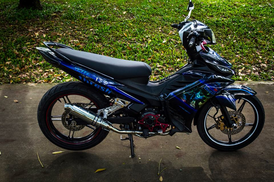 Exciter 135 do tem phong cach Thresh - 4