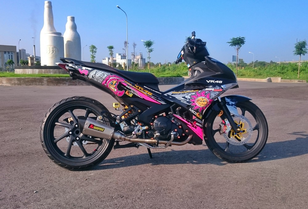 Exciter 150 cua phuot thu mien tay