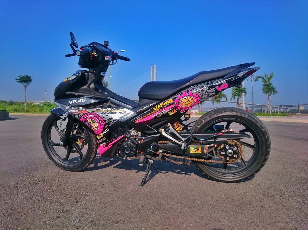 Exciter 150 cua phuot thu mien tay - 3