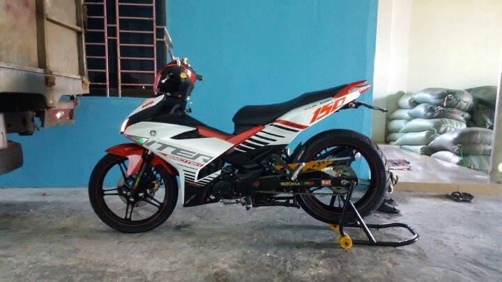 Exciter 150 do phong cach Indo voi do choi nhe - 3