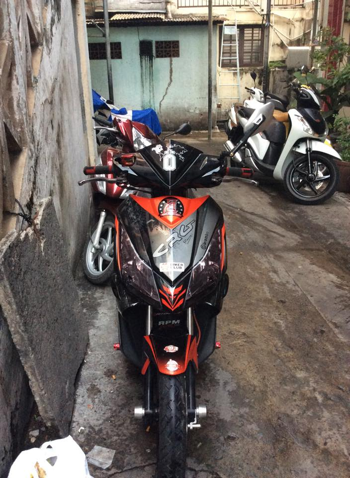Honda Air Blade kieng chat - 4
