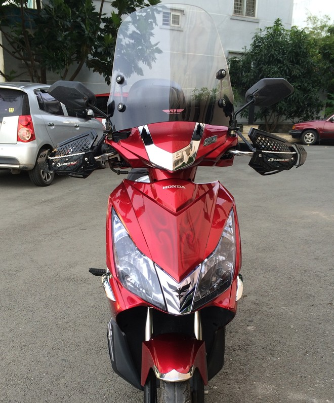 Honda AirBlade do don gian theo phong cach Touring - 3