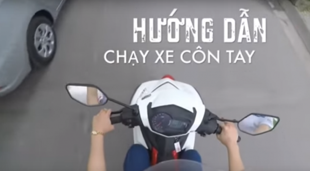Huong Dan Cach Chay Xe Con Tay Moi Nhat Nam 2015 Exciter 150