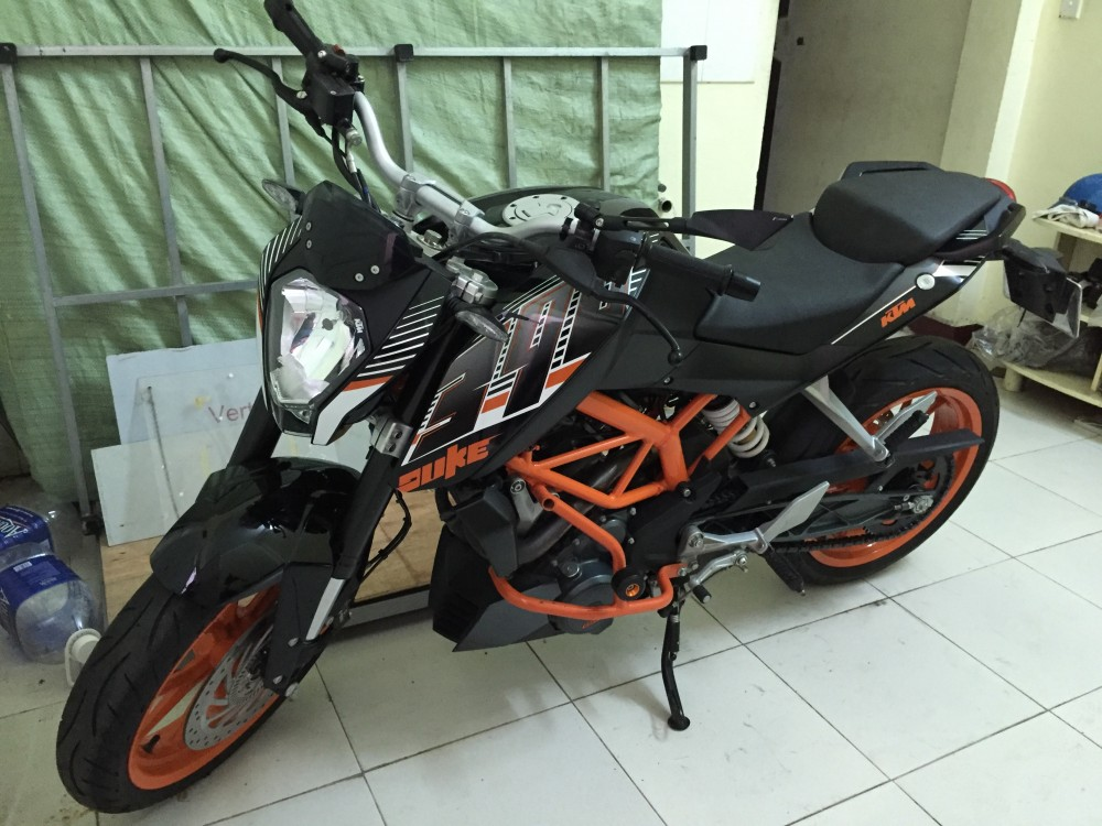 KTM DUKE 390 BLACK ODO 2300