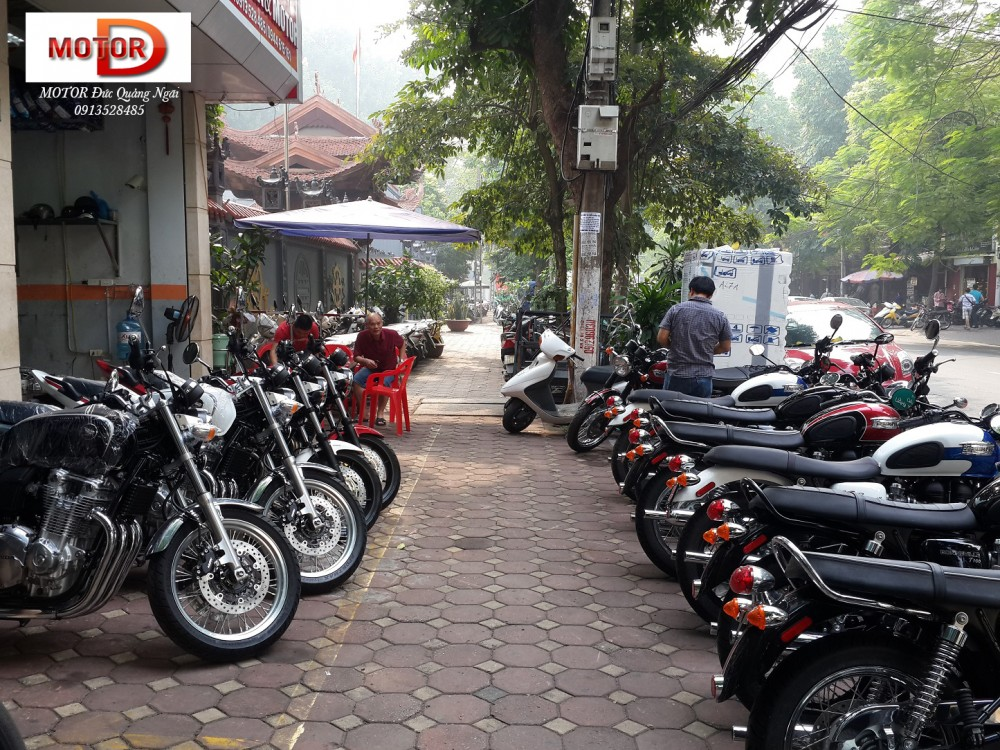 May em Triumph Bonneville vua ve doi - 2