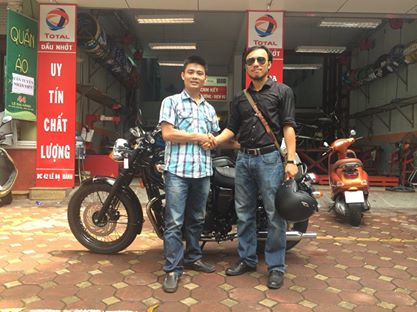 May em Triumph Bonneville vua ve doi - 10