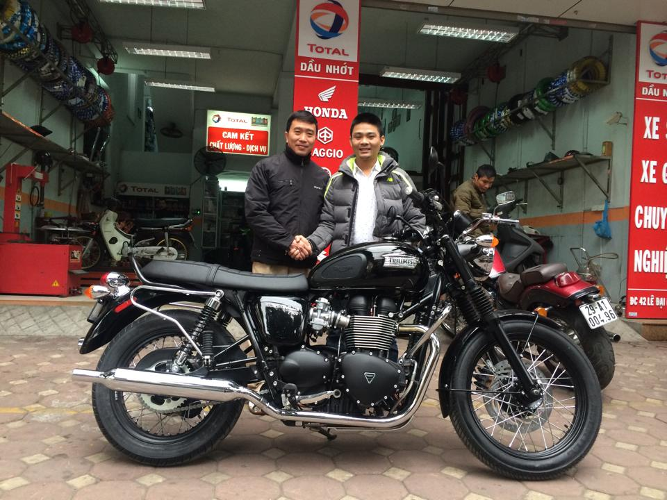 May em Triumph Bonneville vua ve doi - 12
