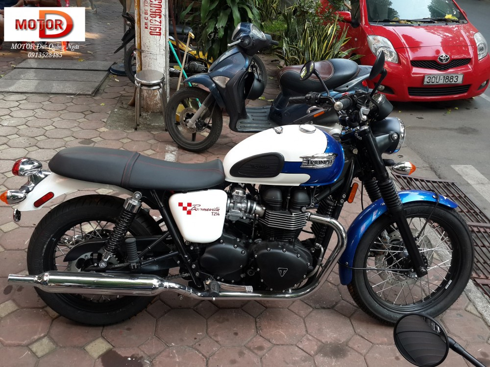 May em Triumph Bonneville vua ve doi - 17