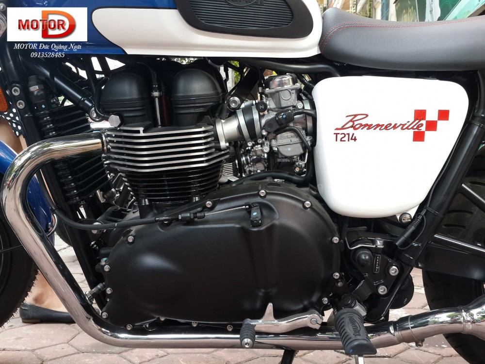 May em Triumph Bonneville vua ve doi - 18